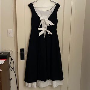 NWT Anthropology Dress Bow Sz 4